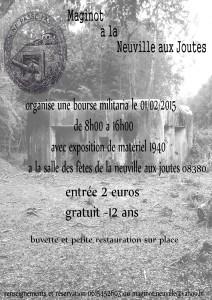 Première bourse aux armes anciennes de La-Neuville-aux-Joûtes.