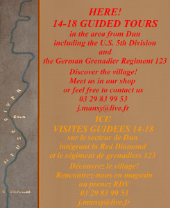Visites guidées/guided tours.